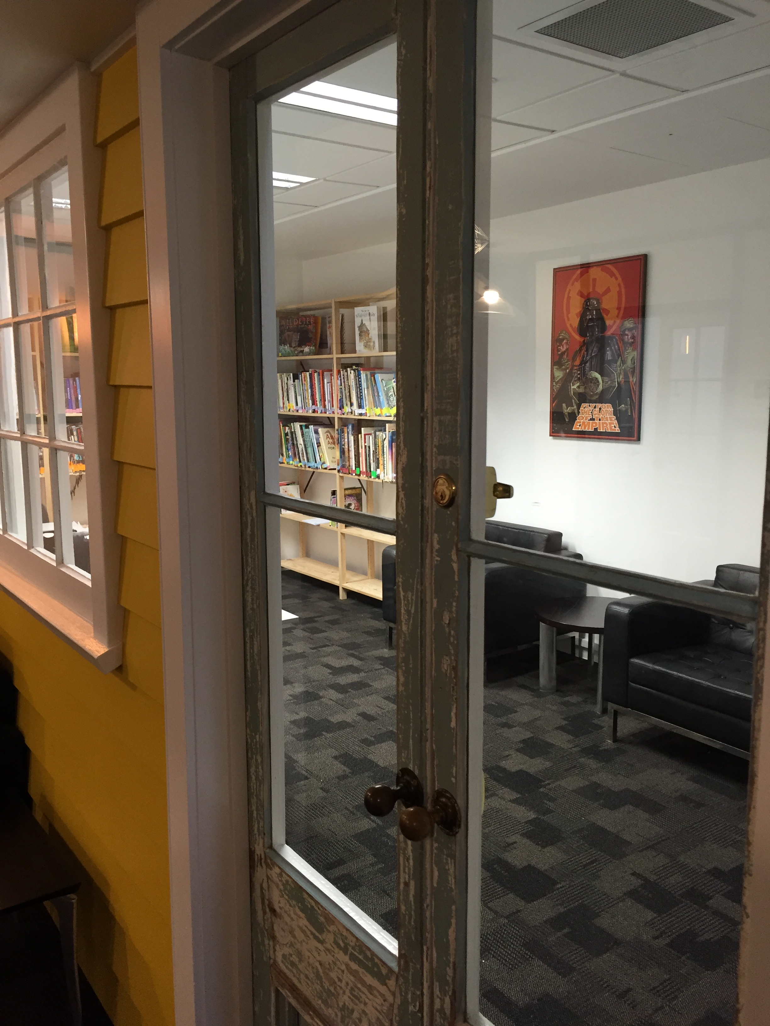 Looking into Animation College Library